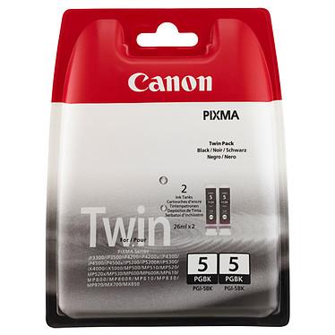Canon PGI-5BK Twin Pack Pack de 2 cartouches d'encre noire