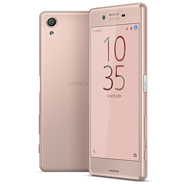 "Sony Xperia X Dual SIM 64 Go Rose Smartphone 4G-LTE Advanced Dual SIM - Snapdragon 650 6-Core 1.8 GHz - RAM 3 Go -  Ecran tactile 5"" 1080 x 1920 - 64 Go - NFC/Bluetooth 4.1 - 2620 mAh - Android 6.0"