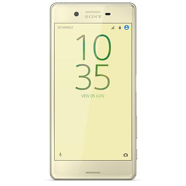 Avis Sony Xperia X Dual SIM 64 Go Or Lime