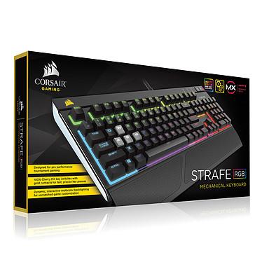 Corsair Gaming STRAFE RGB (Cherry MX Red) pas cher