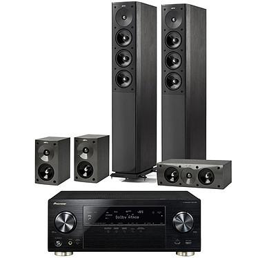 Pioneer VSX-930 Noir + Jamo S 608 HCS 3 Black Ash