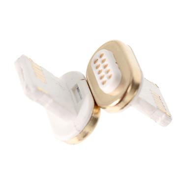 Textorm TX-MA-008 Têtes magnétiques de chargement et synchronisation pour iPhone avec connecteur Lightning