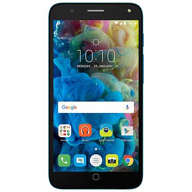 """Alcatel POP 4 (5"""") Bleu Smartphone 4G Dual SIM - Snapdragon 210 Quad-Core 1.1 GHz - RAM 1 Go - Ecran tactile 5"""" 720 x 1280 - 8 Go - Bluetooth 4.0 - 2500 mAh - Android 6.0"""
