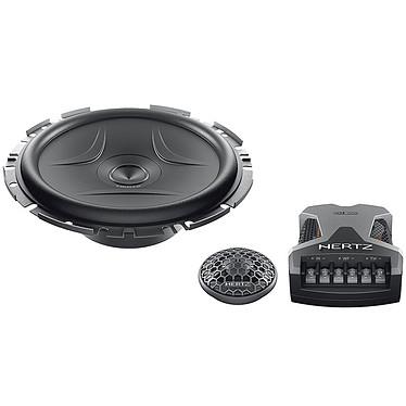Hertz ESK F165.5 Slim Kit 2 canales separados 270 W con woofer de 165 mm, tweeter de 26 mm y filtro