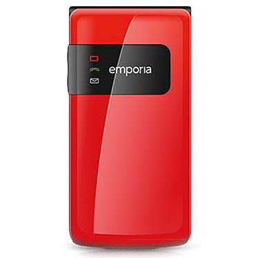 "Emporia FLIPbasic F220 Rouge Téléphone 2G Grosses touches - Ecran 2.2"" 176 x 220 - 1020 mAh"