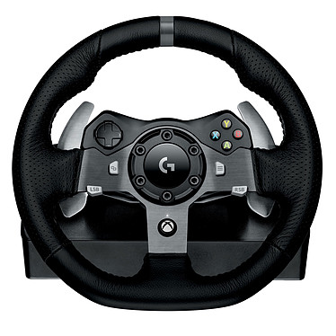 Avis Logitech G920 Driving Force Racing Wheel