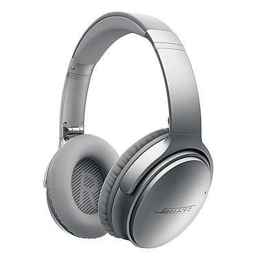 Bose QuietComfort 35 wireless Argent Casque circum-aural sans fil Bluetooth et NFC avec étui de transport