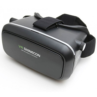 VR Shinecon Casco de realidad 3D negro Auriculares de realidad virtual para smartphones como Google Cardboard VR