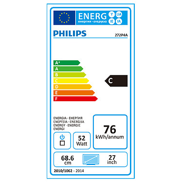 "Acheter Philips 27"" LED - 272P4APJKHB"