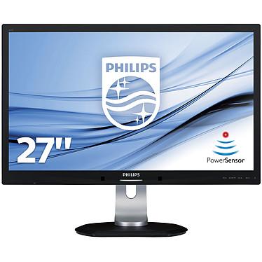 """Philips 27"""" LED - 272S4LPJCB 2560 x 1440 pixels - 2 ms (gris à gris) - Format large 16/9 - DisplayPort - HDMI - MHL - Pivot - Noir"""