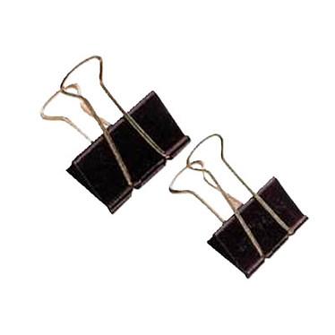 Pince double clip 42 mm (Lot de 10) Pince à dessin 42 mm par boîte de 10