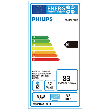 "Philips 32"" LED - BDM3275UP pas cher"