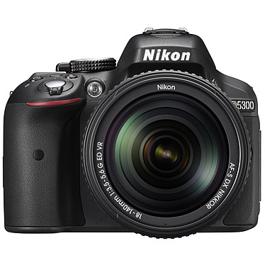 "Nikon D5300 + AF-S DX NIKKOR 18-140MM 24.2 MP DSLR - Pantalla de 3.2"" - Vídeo Full HD - Wi-Fi + AF-S DX NIKKKOR 18-140MM F/3.5-5.6G Lente ED VR"
