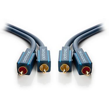 Acheter Clicktronic Câble audio RCA (2 mètres)