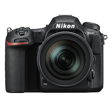 Nikon D500 + AF-S DX NIKKOR 16-80 mm Appareil photo 20.9 MP - Vidéo 4K Ultra HD - Écran tactile inclinable - Wi-Fi - Bluetooth - SnapBridge + Objectif AF-S DX NIKKOR 16-80 mm f/2.8-4E ED VR