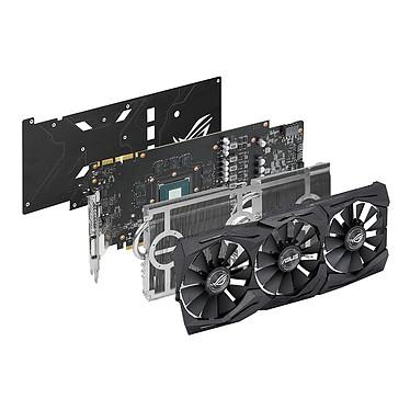 ASUS GeForce GTX 1070 ROG STRIX-GTX1070-O8G-GAMING pas cher