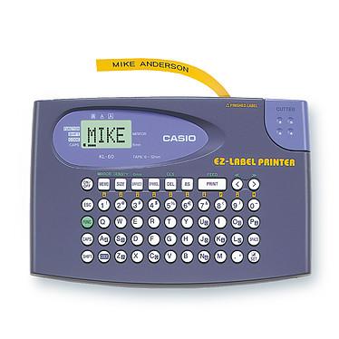 Casio KL-60 Imprimante à étiquettes 6 - 9 - 12 mm avec clavier QWERTY