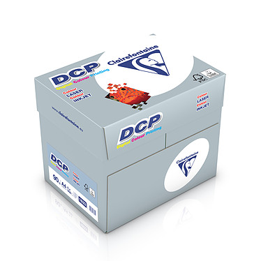 Clairefontaine DCP A4 90g ramette 500 feuilles Blanc X5