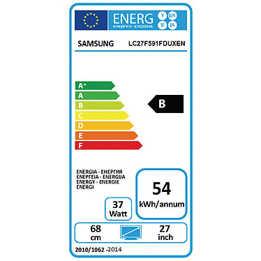 "Samsung 27"" LED - C27F591F pas cher"