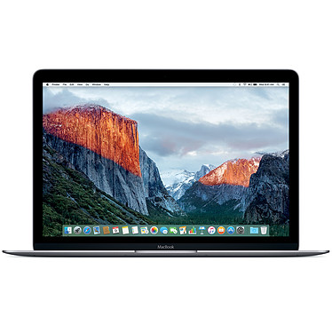"Apple MacBook (2016) 12"" Gris sidéral (MLH72FN/A)"