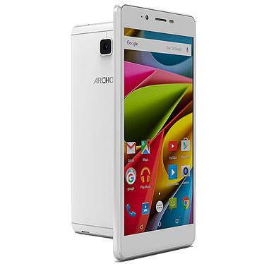 "Archos 55 Cobalt Plus Blanc Smartphone 4G-LTE Dual SIM - ARM Cortex-A53 Quad-Core 1 GHz - RAM 2 Go - Ecran tactile 5.5"" 720 x 1280 - 16 Go - Bluetooth 4.0 - 2700 mAh - Android 5.1"