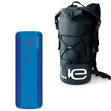 UE Boom 2 Bleu + Backpack Waterproof OFFERT !