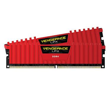 Corsair Vengeance LPX Series Low Profile 16 Go (2x 8 Go) DDR4 4000 MHz CL19 Kit Quad Channel 2 barrettes de RAM DDR4 PC4-32000 - CMK16GX4M2B4000C19R (garantie à vie par Corsair)