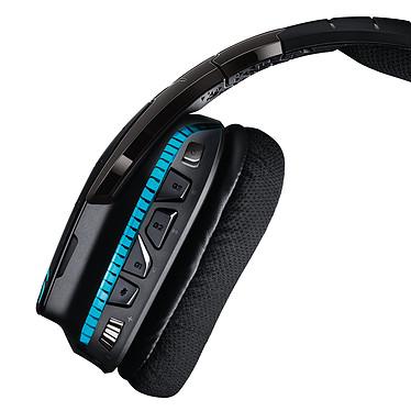 Acheter Logitech G933 Artemis Spectrum RGB Wireless 7.1 Surround Gaming Headset (Noir)