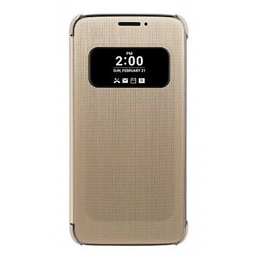 LG Étui Folio Mesh Or LG G5 Étui de protection pour LG G5