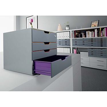 DURABLE Module de classement Varicolor Safe 4 tiroirs 7606-27 pas cher