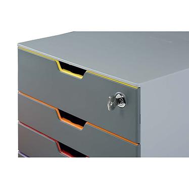 Avis DURABLE Module de classement Varicolor Safe 4 tiroirs 7606-27