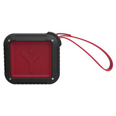 Ryght Airbox-S Rouge Enceinte portable sans fil Bluetooth résistante aux gouttes avec micro intégré