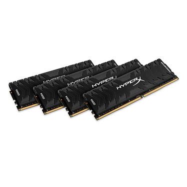 HyperX Predator Noir 16 Go (4x 4 Go) DDR4 3000 MHz CL15