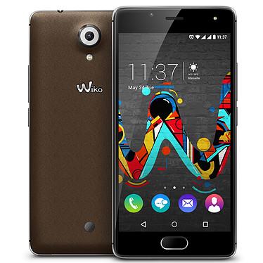 "Wiko Ufeel Chocolat Smartphone 4G-LTE Dual SIM - ARM Cortex-A53 Quad-Core 1.3 GHz - RAM 3 Go - Ecran tactile 5"" 720 x 1280 - 16 Go - Bluetooth 4.0 - 2500 mAh - Android 6.0"