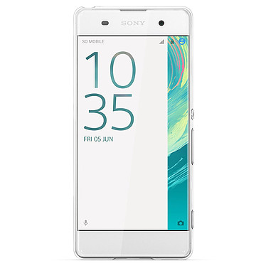 Sony Style Cover SBC24 Transparent Sony Xperia XA Contraportada transparente para Sony Xperia XA