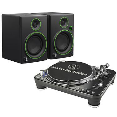 Audio-Technica AT-LP1240USB + Mackie CR4
