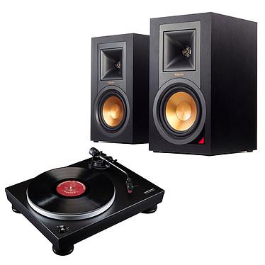Audio-Technica AT-LP5 Noir + Klipsch R-15PM