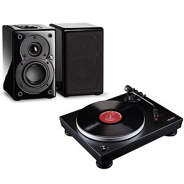 Audio-Technica AT-LP5 Noir + Scansonic S3 Active Noir