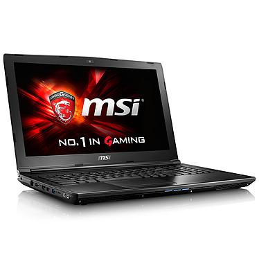 "MSI GL62 6QF-624FR Intel Core i5-6300HQ 8 Go 1 To 15.6"" LED Full HD NVIDIA GeForce GTX 960M Graveur DVD Wi-Fi AC/Bluetooth Webcam Windows 10 Famille 64 bits (garantie constructeur 2 ans)"
