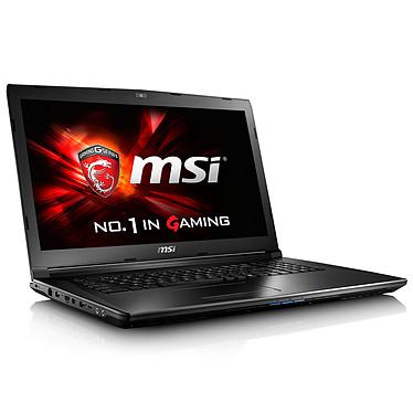 "MSI GL72 6QF-800FR Intel Core i5-6300HQ 8 Go SSD 128 Go + HDD 1 To 17.3"" LED Full HD NVIDIA GeForce GTX 960M Graveur DVD Wi-Fi AC/Bluetooth Webcam Windows 10 Famille 64 bits (garantie constructeur 2 ans)"