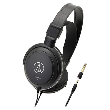 Audio-Technica ATH-AVC200 Noir Casque circum-auriculaire fermé