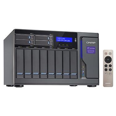 """QNAP TVS-1282-i7-64G-450W Servidor NAS 8 ranuras 3,5""""/2.5"""" + 4 ranuras 2.5"""" con procesador Quad-Core Intel Core i7-6700 3.4 GHz - RAM 64 GB (sin disco duro) y alimentación 450W"""