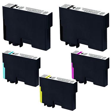 Multipack cartouches compatibles Epson T129 (Noir, Cyan, Magenta et jaune)