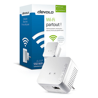 Devolo dLAN 550 Wi-Fi x2 pas cher