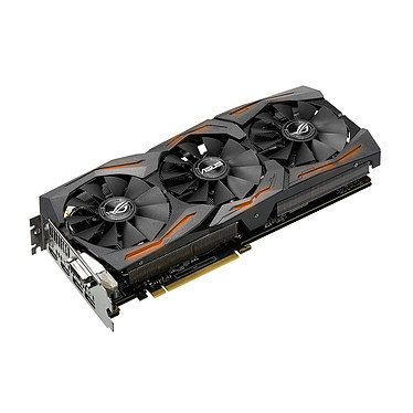ASUS GeForce GTX 1070 ROG STRIX-GTX1070-8G-GAMING 8192 MB DVI/Dual HDMI/Dual DisplayPort - PCI Express (NVIDIA GeForce con CUDA GTX 1070)