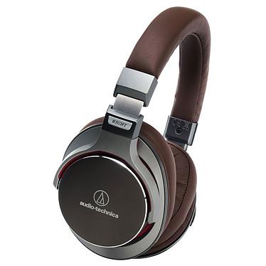 Audio-Technica ATH-MSR7 Bronze Casque circum-auriculaire fermé Hi-Res Audio avec télécommande et micro