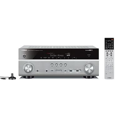 Yamaha MusicCast RX-V781 Titane Ampli-tuner Home Cinéma 7.2 3D Ready avec HDMI 2.0, HDCP 2.2, HDR, Ultra HD 4K, Wi-Fi, Bluetooth, DLNA, AirPlay, MusicCast, Dolby Atmos et DTS:X