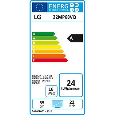 "LG 21.5"" LED 22MP68VQ-P pas cher"