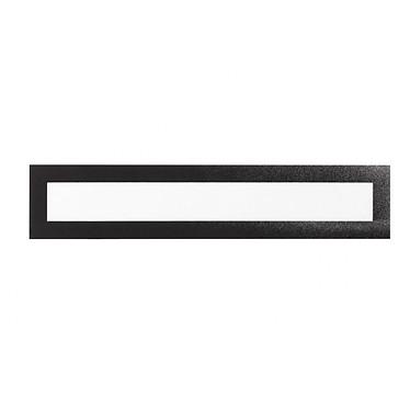 Durable Sachet de 5 cadres Duraframe Magnetic Top A3 Noir Sachet de 5 cadres d'affichage magnétiques format top A3 bords noirs
