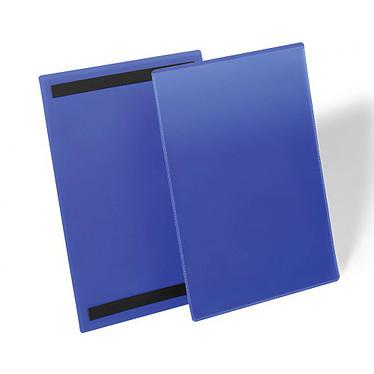 Durable Pochettes magnétiques Bleues  x 50
